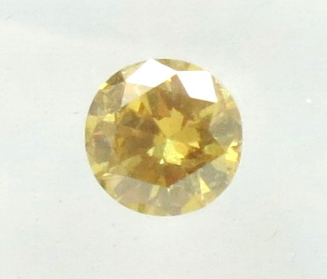 0.49ct  Natural Fancy  Yellow Diamond GIA certified