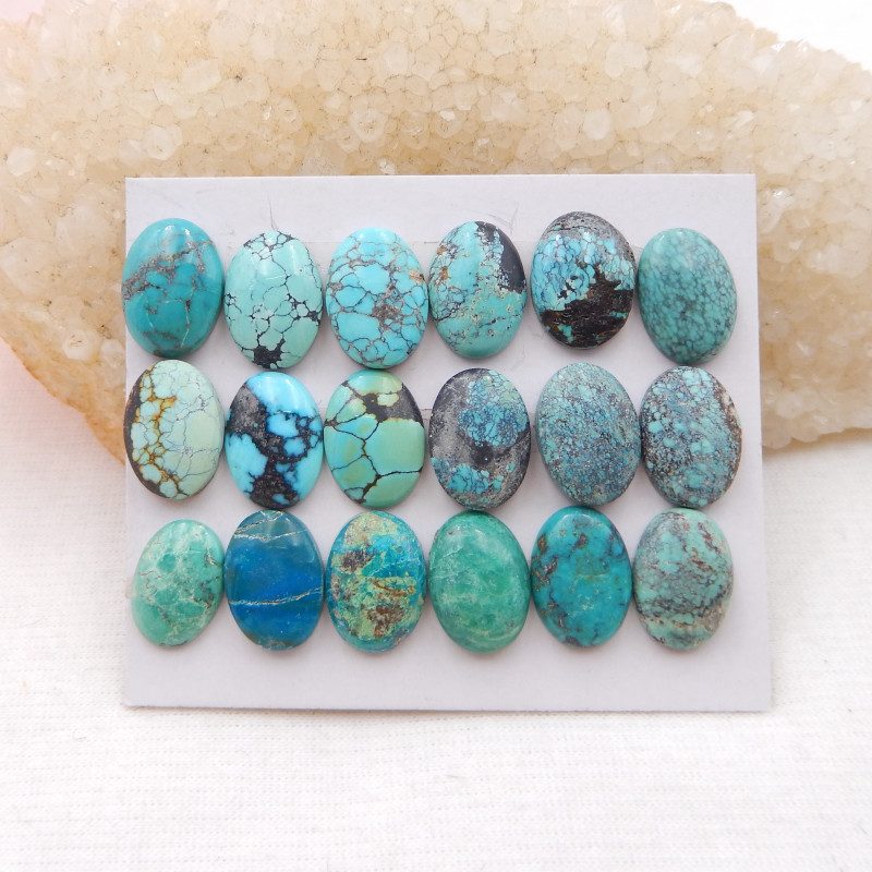 65cts Lucky Turquoise ,Handmade Gemstone ,Turquoise Cabochons ,Lucky Stone