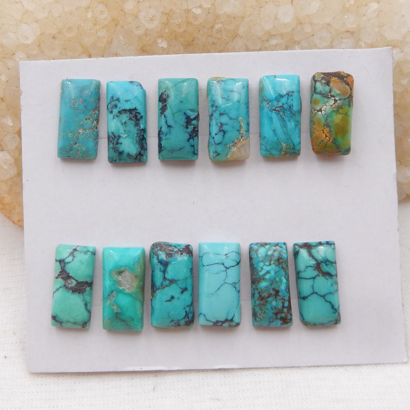 43.5cts Lucky Turquoise ,Handmade Gemstone ,Turquoise Cabochons ,Lucky Ston