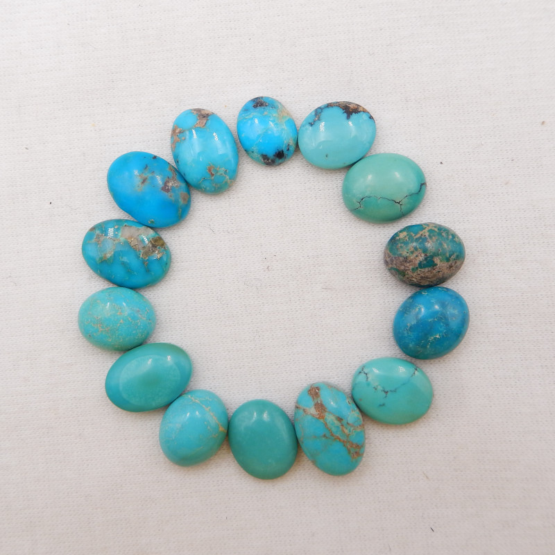 59.5cts Lucky Turquoise ,Handmade Gemstone ,Turquoise Cabochons ,Lucky Ston