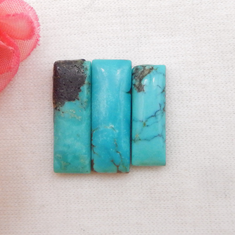 14.5cts Lucky Turquoise ,Handmade Gemstone ,Turquoise Cabochons ,Lucky Ston