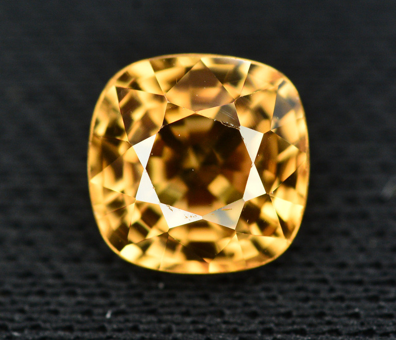 Yellow Color Zircon 1.90 Ct Natural Top Color