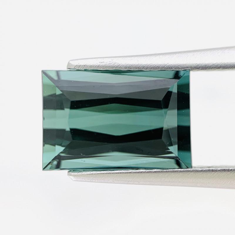 Natural Bluish Green Tourmaline 4.04 cts (SKU Z481)