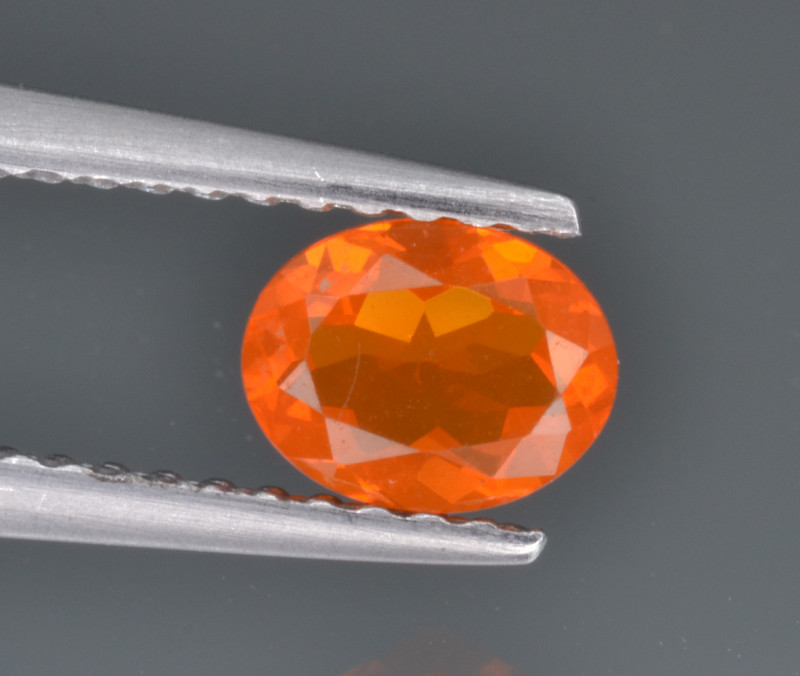 Natural Fire Opal 0.38 Cts Good Quality from Mexico