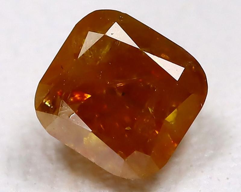 Orange Diamond 0.44Ct Untreated Genuine Fancy Diamond C1008