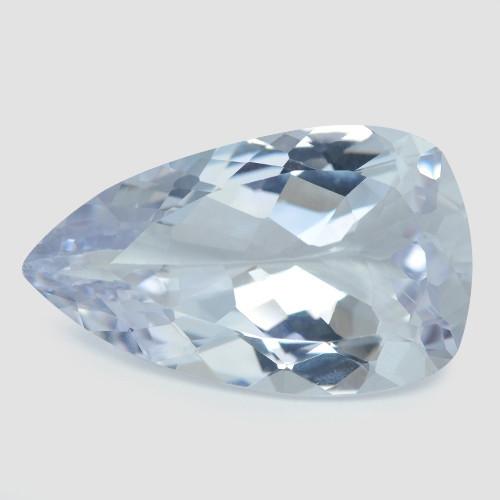 23.87 Cts Un Heated  Light Blue  Natural Aquamarine Loose Gemstone