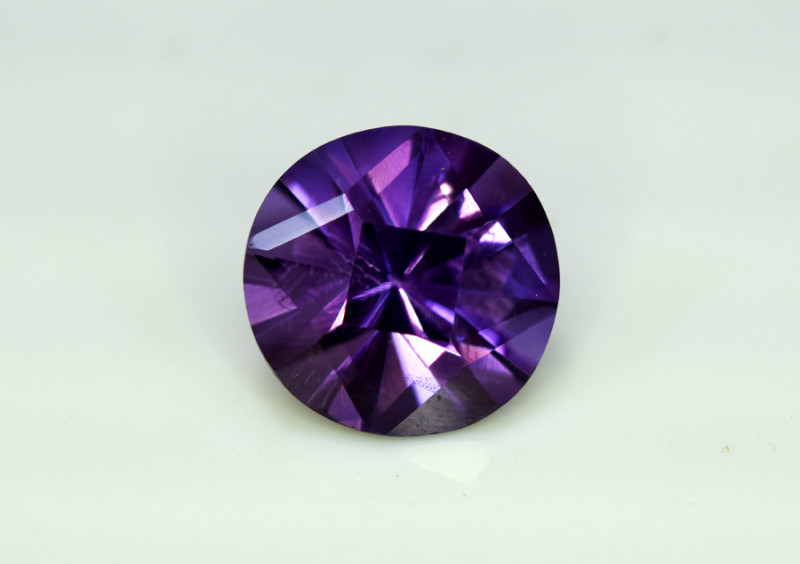 Amethyst, 7.95 Cts Natural Top Color & Cut Amethyst Gemstones