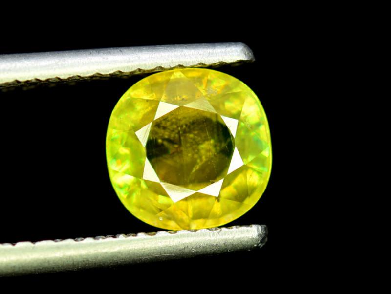 Sphene Titanite, 2.60 CT Natural Full Fire Sphene Titanite Gemstone