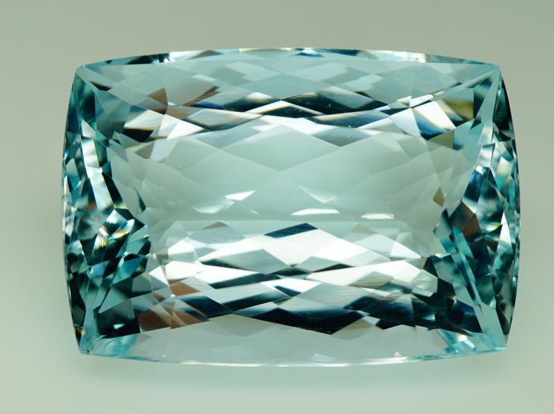 Unheated - 48.81 ct  Natural Earth Mined Blue Aquamarine – IGE Certificate