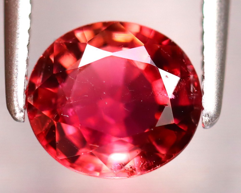Tourmaline 1.20Ct Natural Reddish Pink Tourmaline EF1218/B19