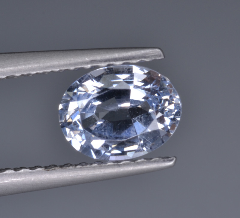 Natural Colorless Sapphire 1.07 Cts  Top Luster from Sri Lanka