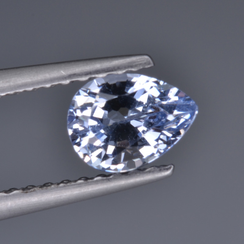 Natural Colorless Sapphire 0.73 Cts  Top Luster from Sri Lanka