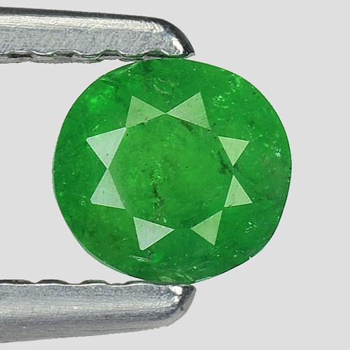 0.36 Ct Tsavorite Garnet Sparkling Luster Gemstone TS27
