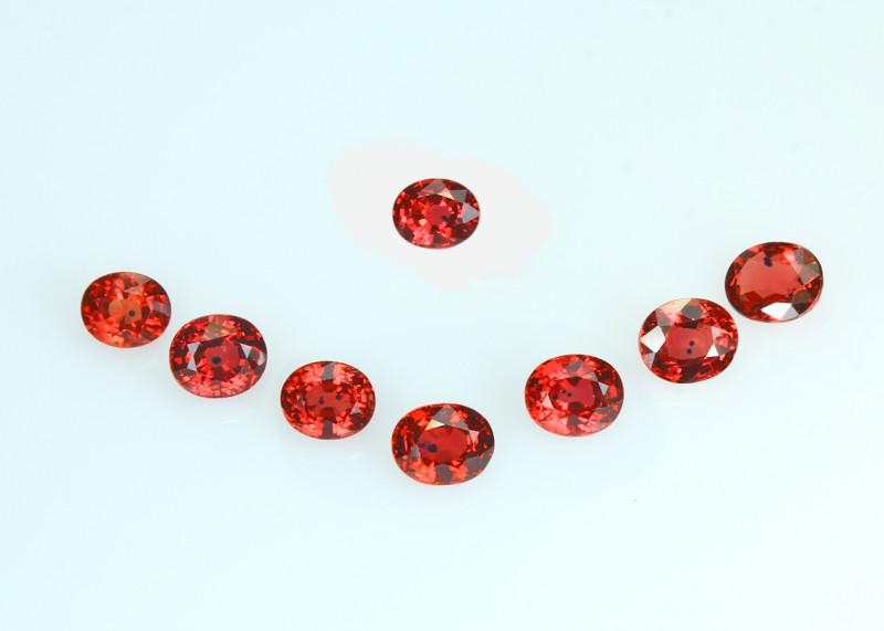 SONGEA Ruby calibrate size, rare gems, exceptional colour, excellent cut,