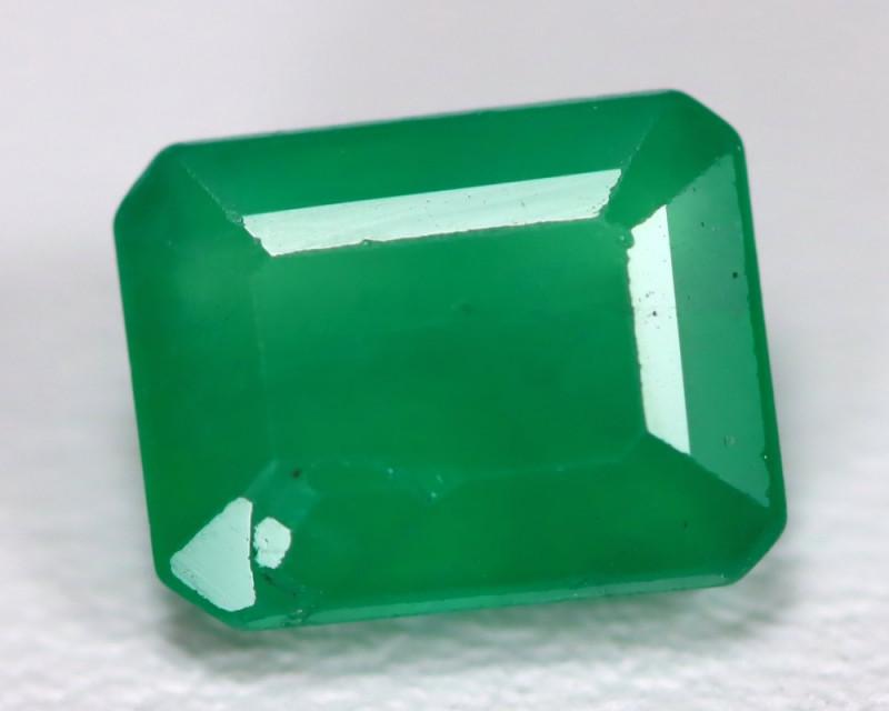 Zambian Emerald 2.14Ct Octagon Cut Natural Green Color Emerald C1209