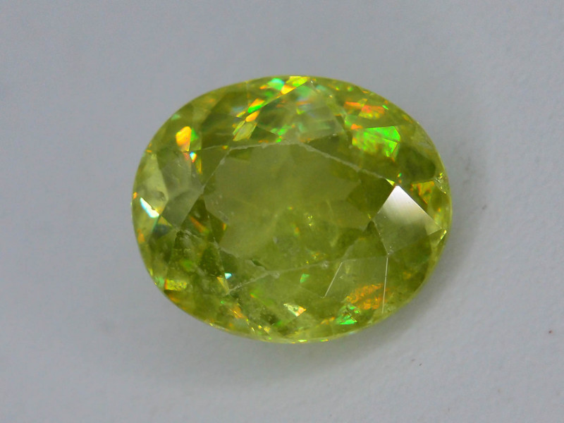 Rare AAA Fire 1.05 ct Sphene