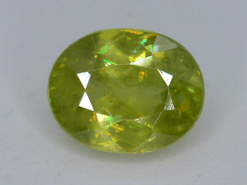 Rare AAA Fire 1.25 ct Sphene