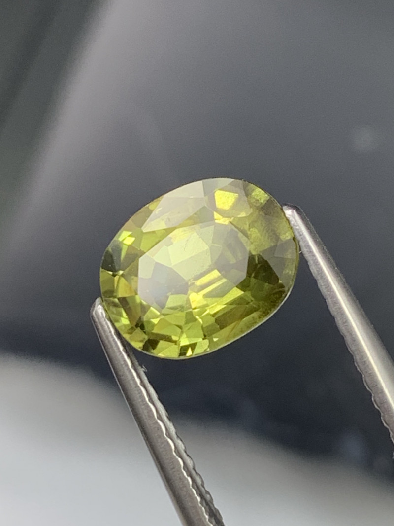 2.00 Cts AAA Grade Yellow Natural Sapphire Amazing Luster