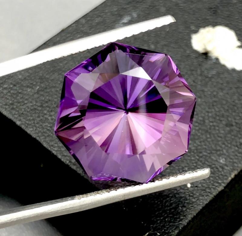 24.05 Carats Rich Color Fancy Amethyst Loose Gemstone