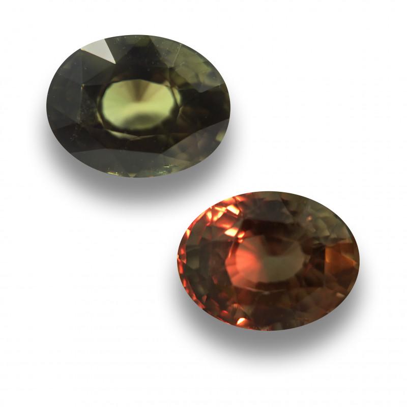 Natural Chrysoberyl Alexandrit Loose Gemstone  Sri Lanka - New