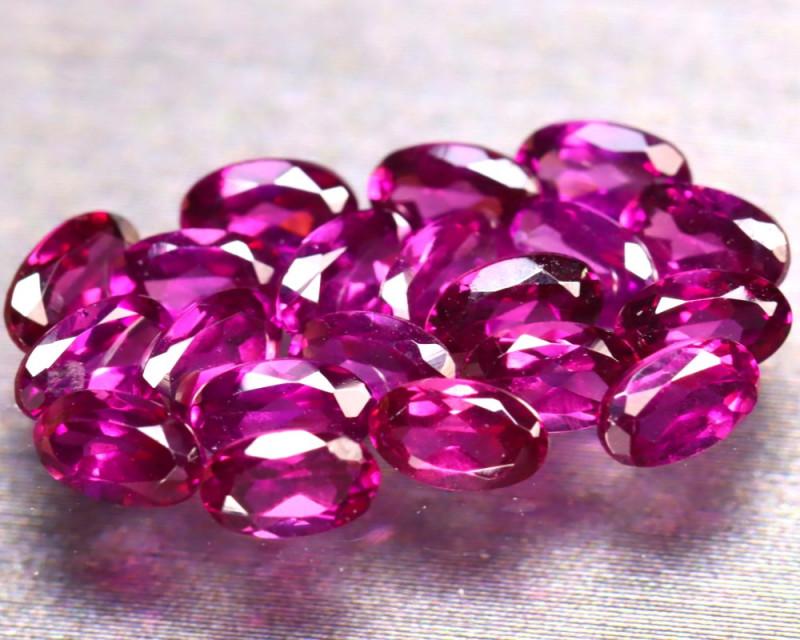 Rhodolite 6.00Ct 20Pcs Natural Purple Rhodolite Garnet EF1418/B2