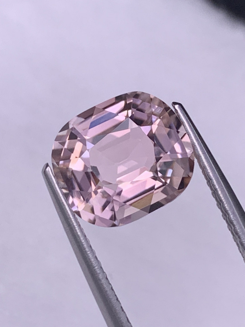 2.98 Cts AAA Grade Afghan Baby Pink Natural Tourmaline Custom Cut