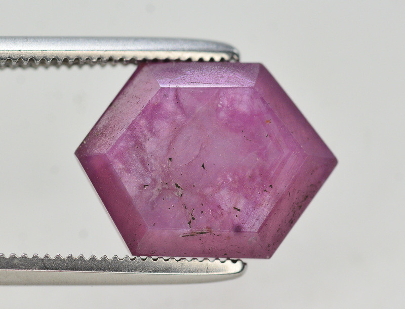 Rarest 4.75 Ct Transparent Ruby Trapiche