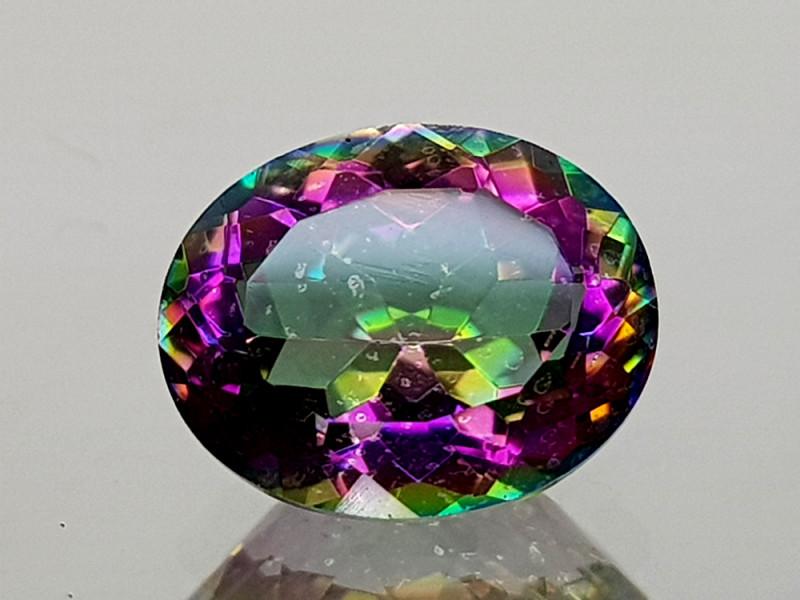2.39Crt Mystic Quartz  Natural Gemstones JIST06
