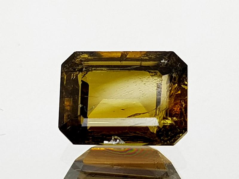1.39Crt Rare Epidote Natural Gemstones JIST06