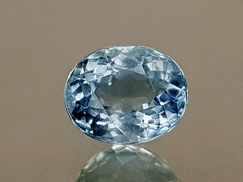 0.71Crt Aquamarine  Natural Gemstones JIST06