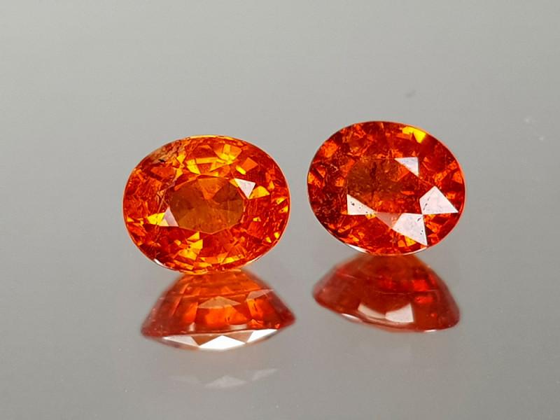1.29Crt Spessartite Garnet Natural Gemstones JIST06
