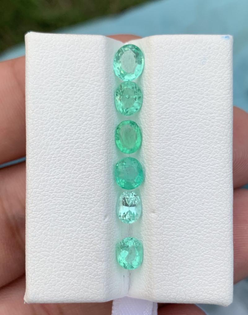 3ctS Top clarity  Transparent  color Emerald Gemstone From panjshir