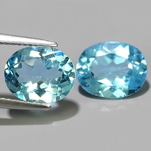 8.30 Cts Excellent Sky Blue Topaz Wonderful Oval Dazzling!!