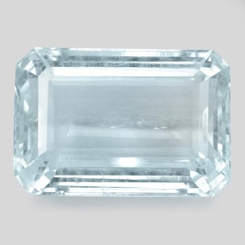 24.08  Cts Un Heated Blue  Natural Aquamarine Loose Gemstone