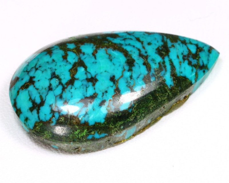 Turquoise 18.43Ct Natural Blue Color Sleeping Beauty Turquoise B1404