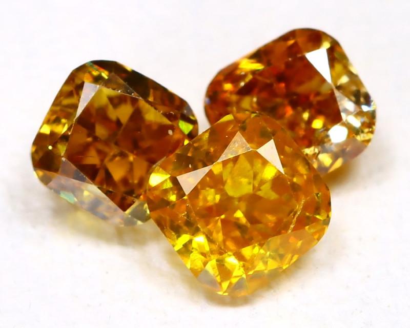 Fancy Diamond 0.45Ct Natural Untreated Fancy Color Diamond B1407
