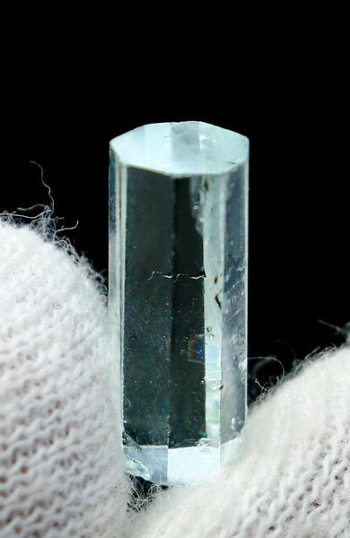 NR!!! 3.95 CTs Natural - Unheated Blue Aquamarine Crystal