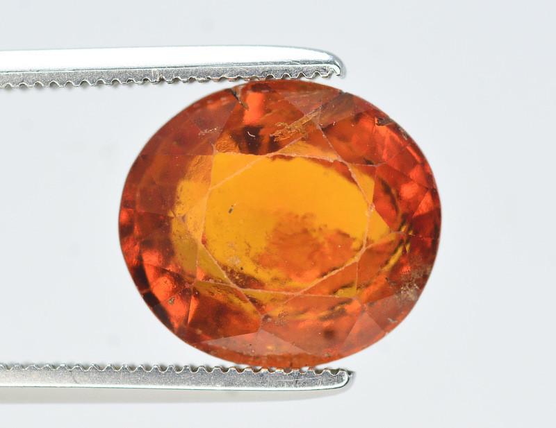 Natural 5.40 Ct Fancy Shape Hessonite Garnet Gemstone SKU 1