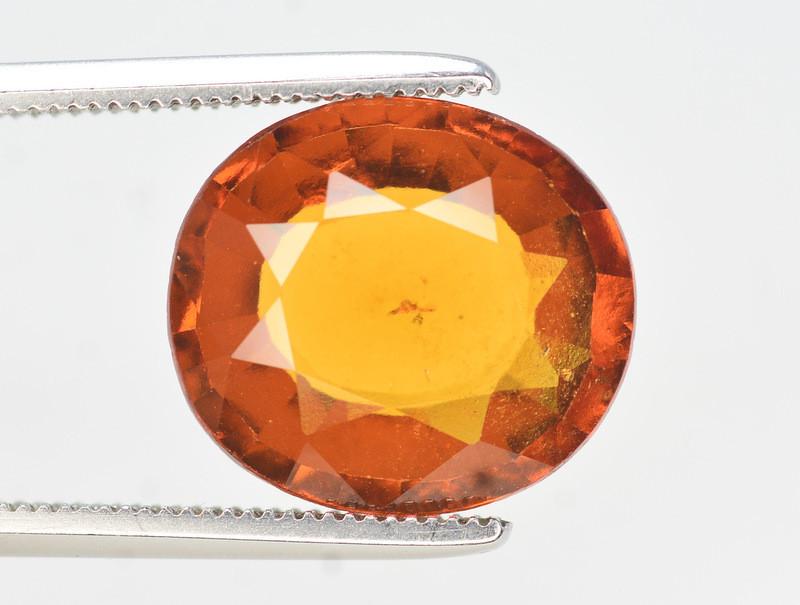 Natural 5.25 Ct Fancy Shape Hessonite Garnet Gemstone