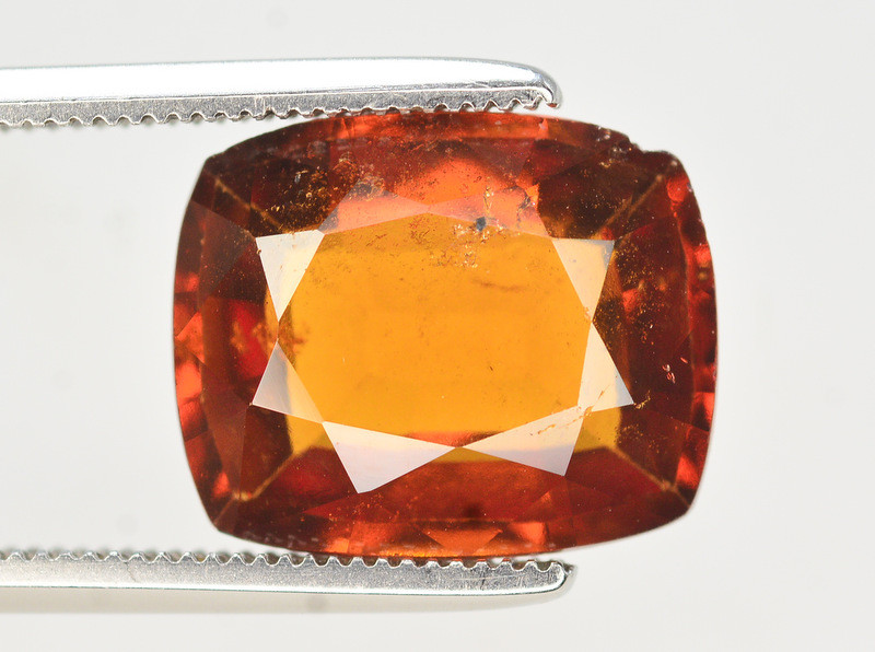 Natural 5.40 Ct Fancy Shape Hessonite Garnet Gemstone