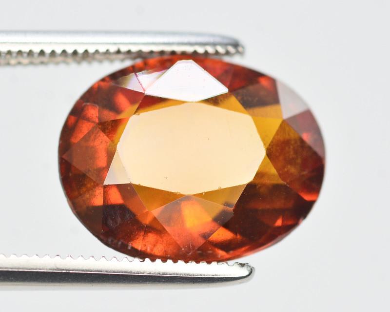 Natural 5.75  Ct Fancy Shape Hessonite Garnet Gemstone