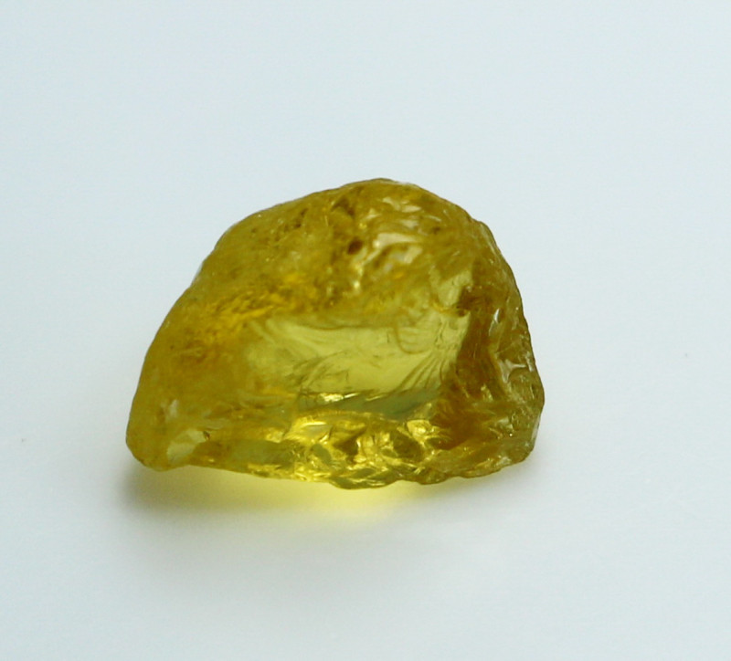 NR!!! 2.50 CTs Natural - Unheated Yellow Heliodor Rough