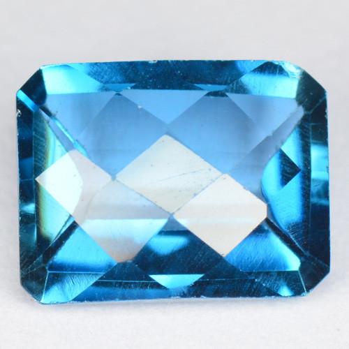2.40 Carat Super Swiss Blue Natural Topaz Gemstone
