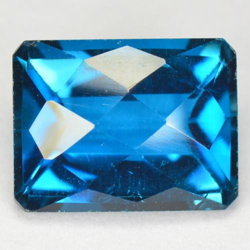 2.60 Carat Super Swiss Blue Natural Topaz Gemstone