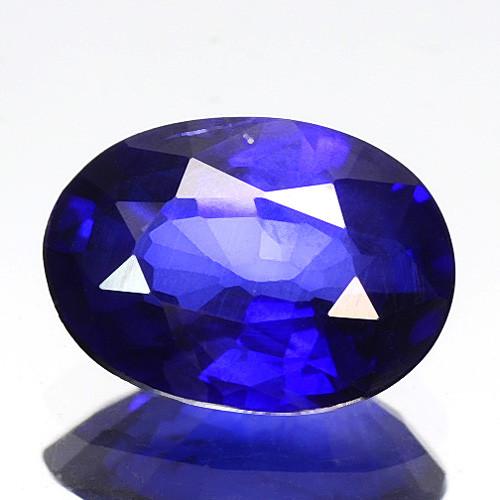 0.53 Cts Amazing Rare Fancy Royal Blue Sapphire Loose Gemstone