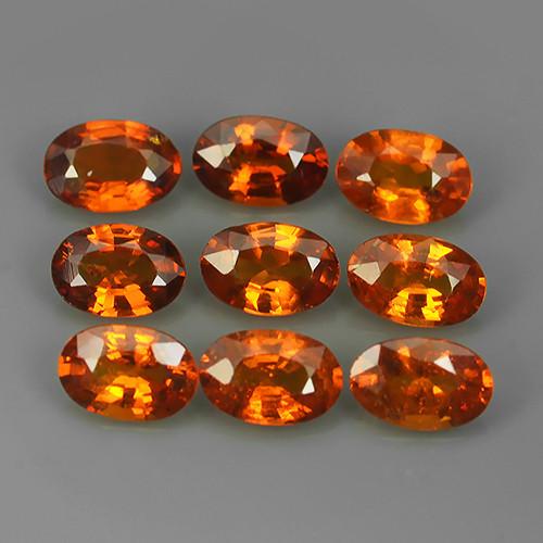 4.53 Cts~Natural Shocking Fanta Orange Spessartite Garnet Namibia, Amazing!