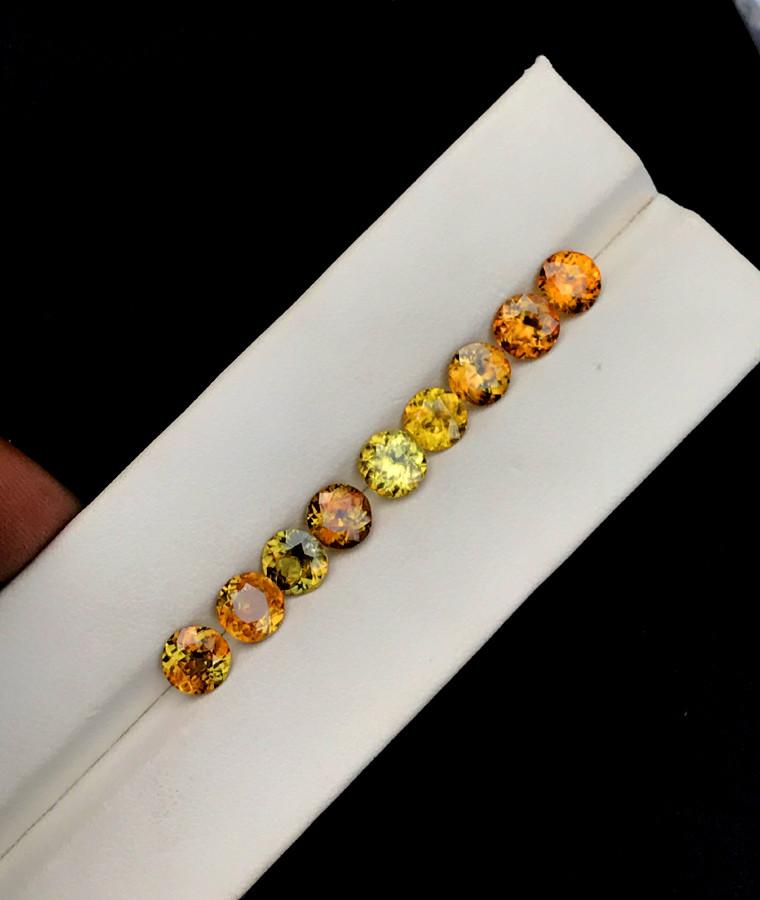 7.95 Full Fire Top Grade Sphene Titanite Gemstone