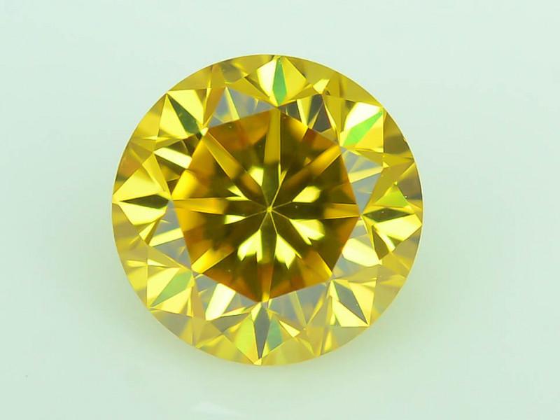 Top Quality 0.30 ct Yellow Diamond