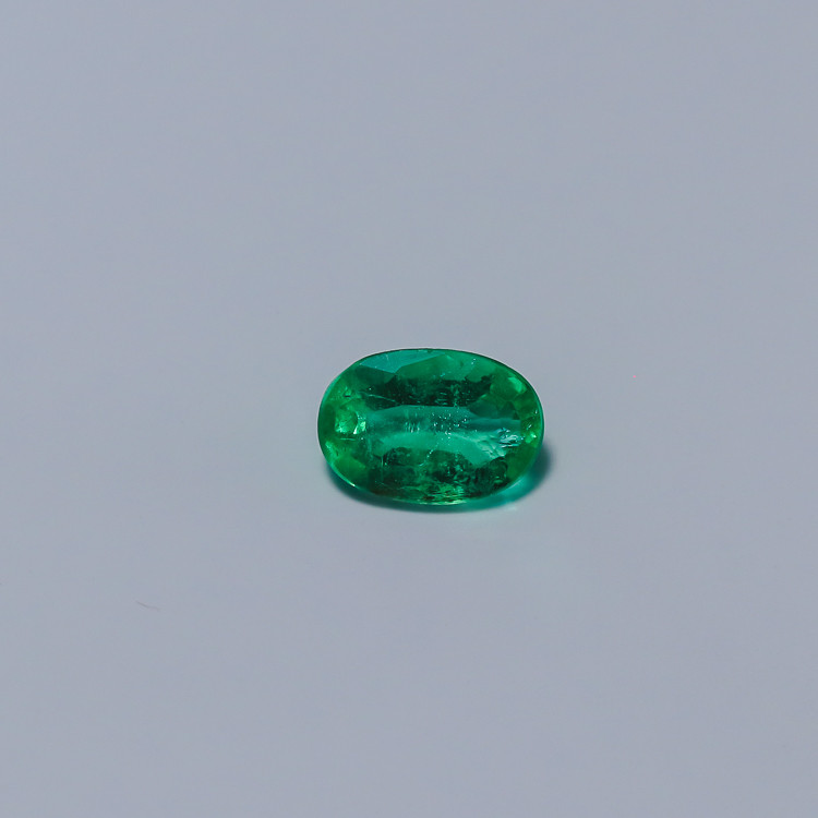0.65ct Lab Certified Zambian Emerald
