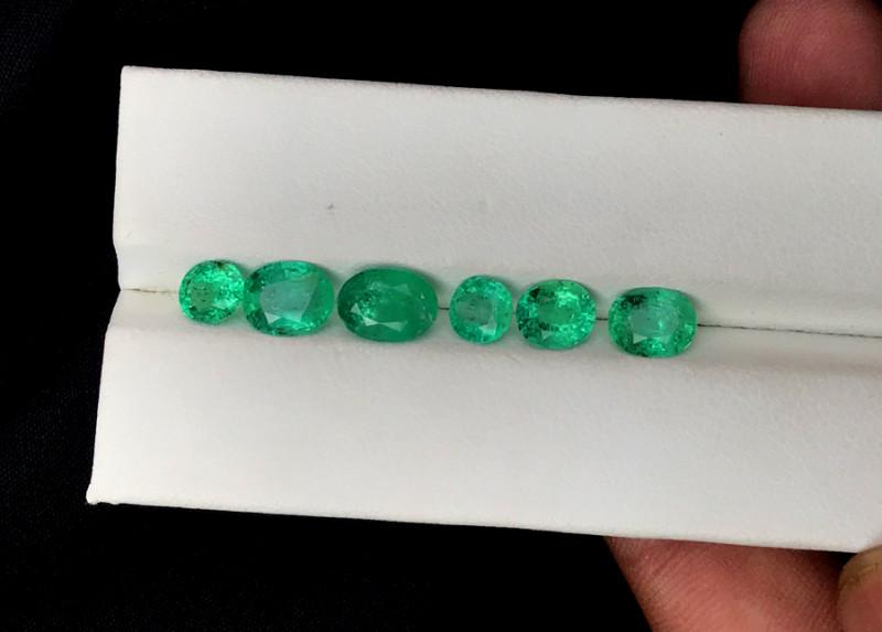 4.50 Carats Lot Of Panjshir Emerald Gemstone
